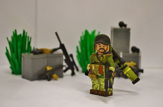 Battlefield 3 US Engineer Custom Minifigure