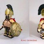 King Leonidas Custom Minifigure