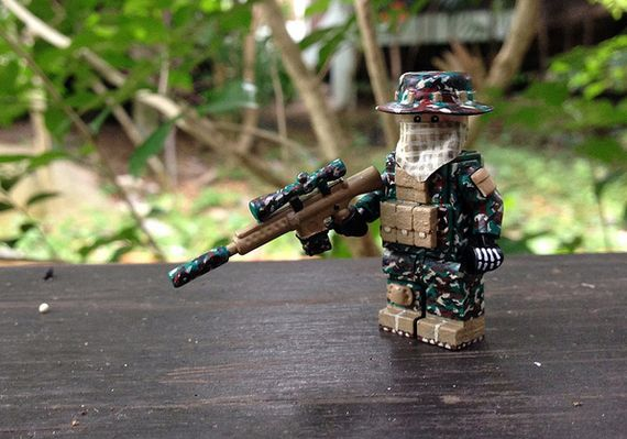 M81 Woodland Sniper Custom Minifigure