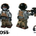 MW2 Ghost Custom Minifigure