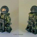 Metal Gear Solid 3 GRU Patrol Custom Minifigure