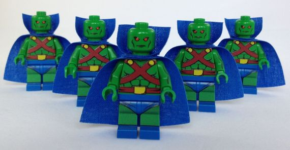 Minifigs4U Martian Pursuer Custom Minifigure