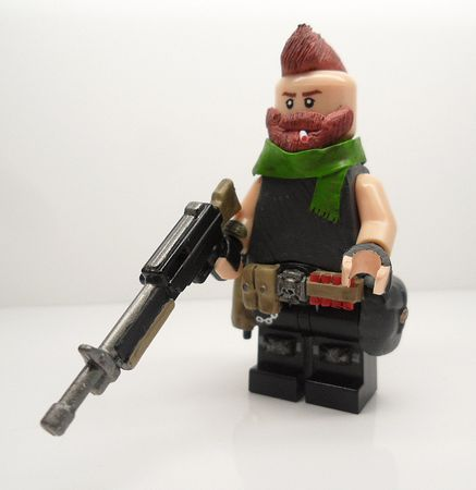 Mr Carter Bounty Hunter Custom Minifigure