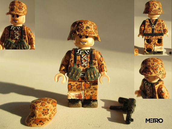 SS Deutscher Infanterist Custom Minifigure