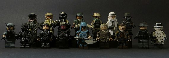 Tomcat Custom Minifigure Collection