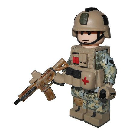 US Army Special Forces Custom Minifigure