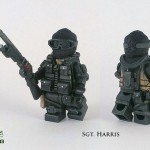 COD4 Modern Warfare SGT Harris Custom Minifigure