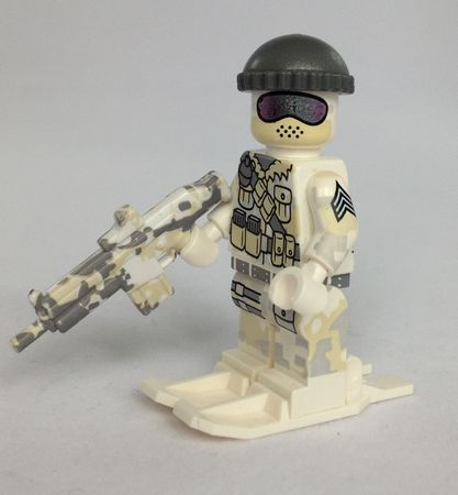 Citizen Brick Polar Commando Custom Minifigure
