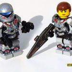 Halo 4 Sarah Palmer Custom Minifigure