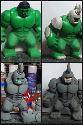 Marvel Rhino Custom Minifigure