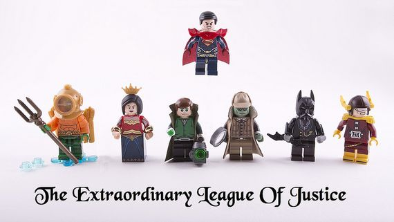 The Extraordinary League of Justice Custom Minifigures
