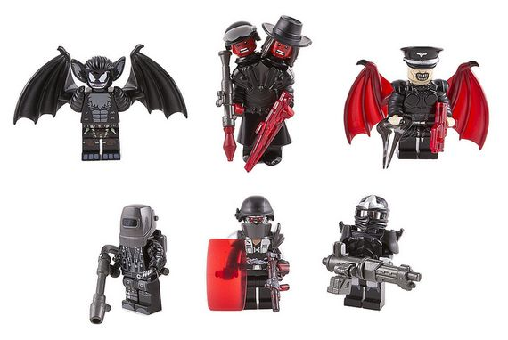 They Came From Hell Custom Minifigures