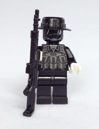 Brick Moc Urban Sniper Minifigure