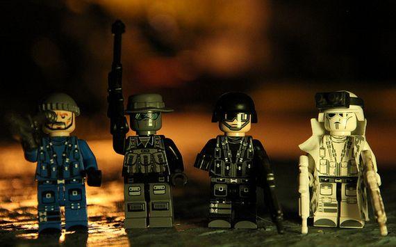Brick Moc Squad Custom Minifigures