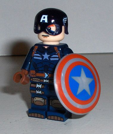Captain America Winter Soldier Custom Minifigure