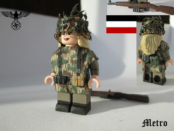 Deutscher Panzergrenadier Custom Minifigure