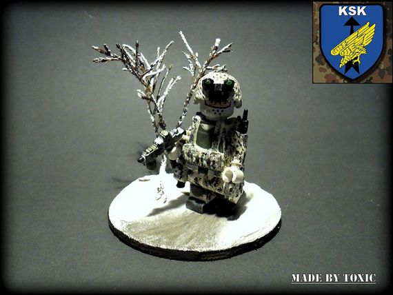 KSK Snow Soldier Custom Minifigure