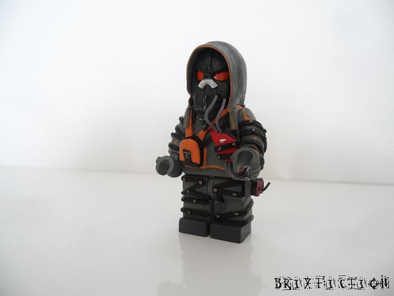 Killzone Black Hand Custom Minifigure After