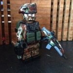 M81 Camo Custom Minifigure