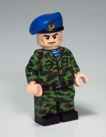 Russian VDV Custom Minifigure
