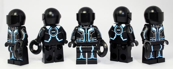Brick Moc Grid User Custom Minifigure