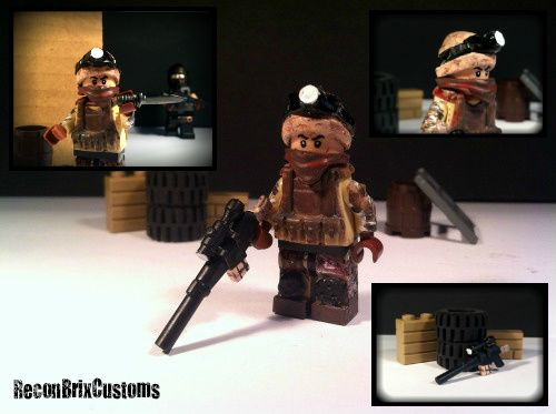 DEVGRU Sniper Desert Operations Minifigure