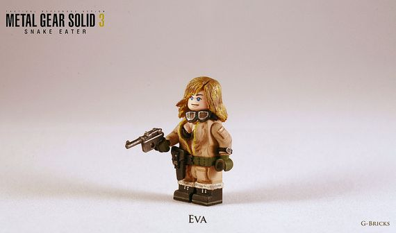 Metal Gear Solid 3 Snake Eater Eva Custom Minifigure