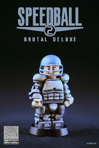 Speedball 2 Custom Minifigure