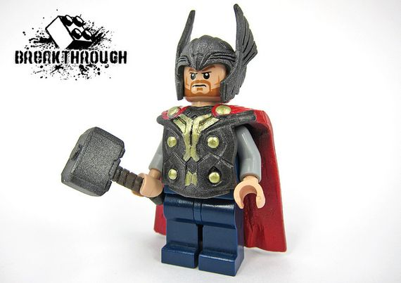 Thor The Dark World Custom Minifigure