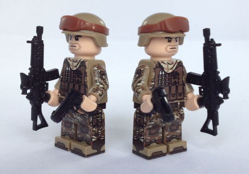 eclipseGrafx Military Assualt Class Troopers Tan