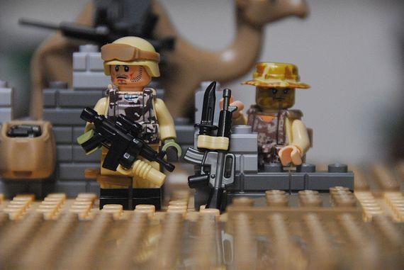 American Desert Spec Ops Custom Minifigures