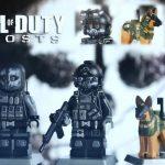 Call of Duty Ghosts Keegan, Logan & Riley Custom Minifigures