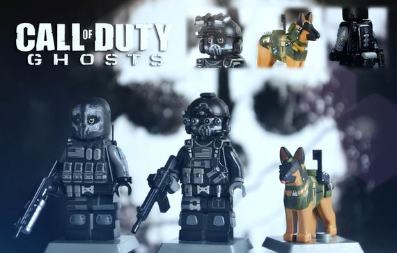 Call of Duty Ghosts: Keegan, Logan & Riley Custom Minifigures