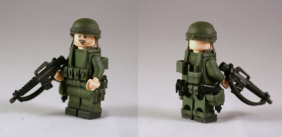 G-Bricks U.S Vietnam Soldier