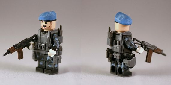 G-Bricks Urban Speznaz Custom Minifigure