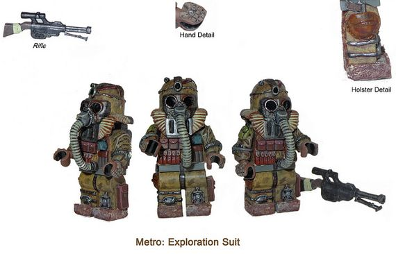 Metro Exploration Suit Custom Minifigure