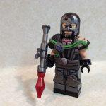 Rocket Bane Custom Minifigure