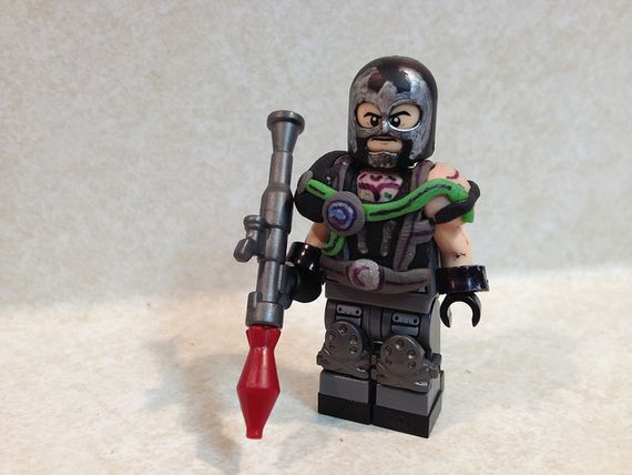 Rocket Bane Custom Minifigure