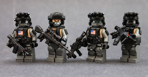 SCOPE Team V3 Custom Minifigures