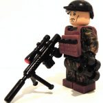 Sniper M81 Fimo Vest Custom Minifigure