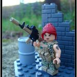Special Ops Girl Custom Minifigure