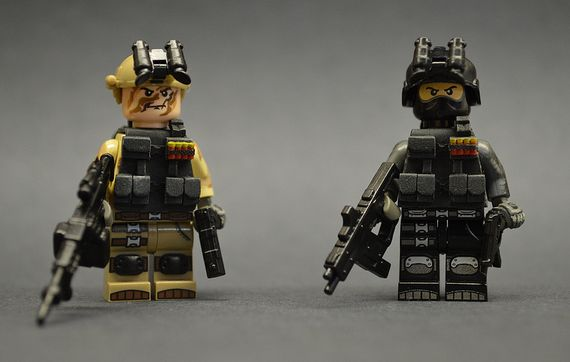 DGAT-I Custom Minifigures