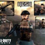 Call Of Duty Ghosts David Hesh Walker Custom Minifigure