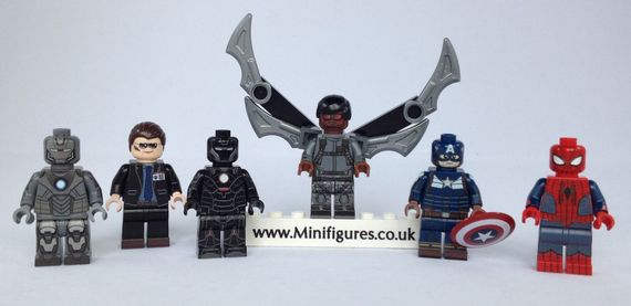 Minifigs4u Winter 13 Custom Minifigure Releases