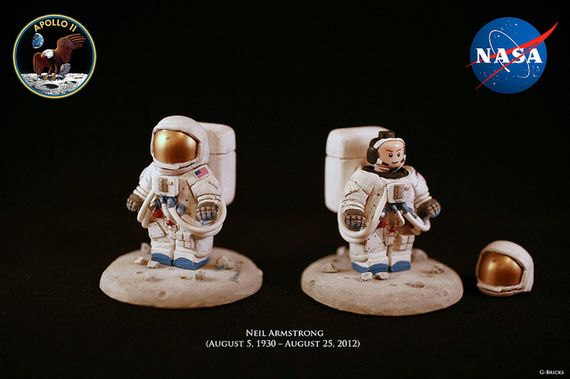 Neil Armstrong Custom Minifigure