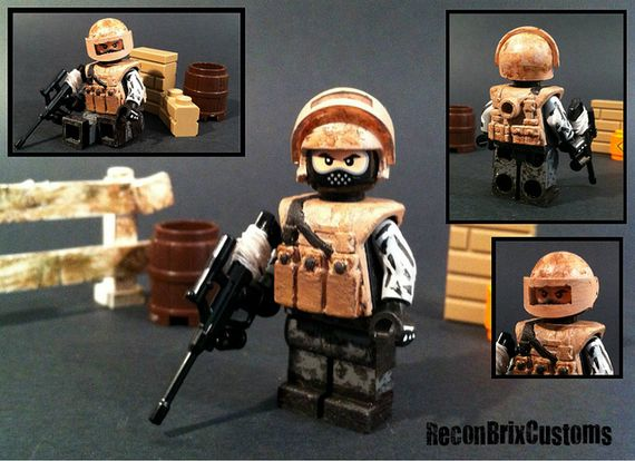 Russian Spetsnaz Desert Forces Custom Minifigure