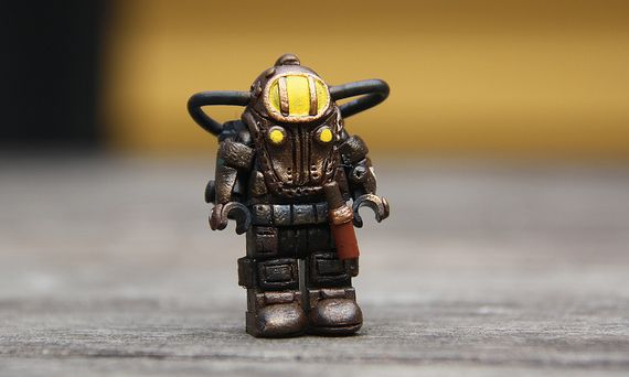 Subject Delta Custom Minifigure
