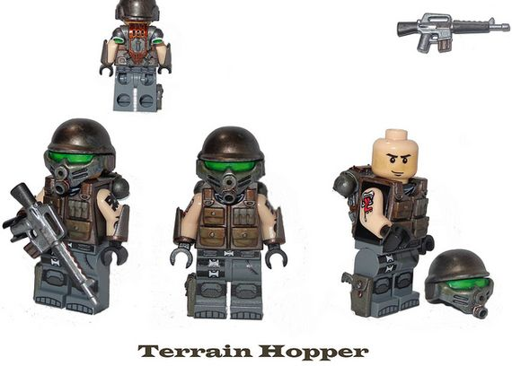 Terrain Hopper Custom Minifigure