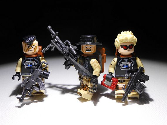 The Faction Custom Minifigures