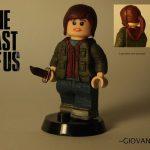 The Last Of Us Ellie Custom Minifigure